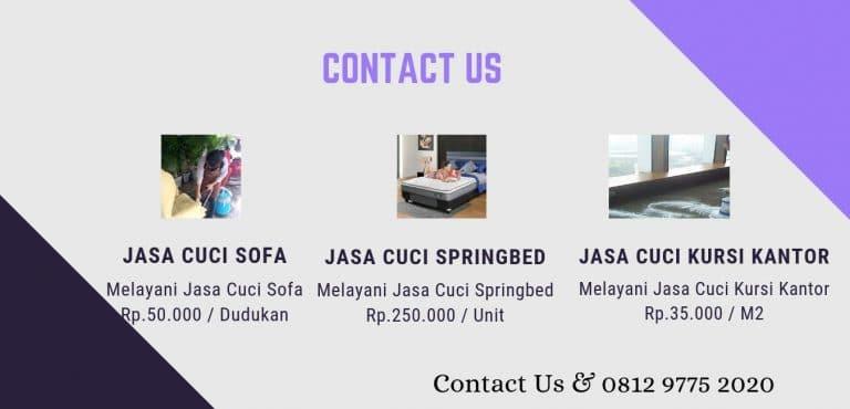 Jasa Cuci Sofa ke Jakarta Pusat