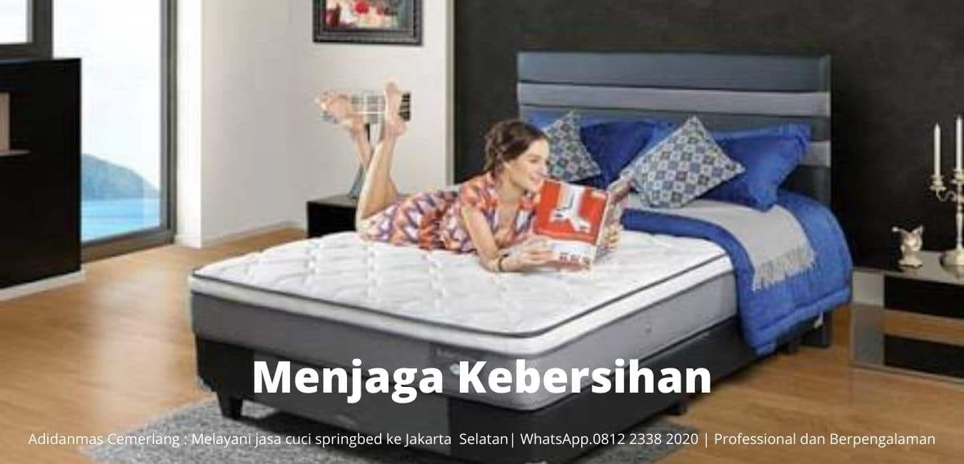 Jasa Cuci Springbed ke Jakarta Selatan