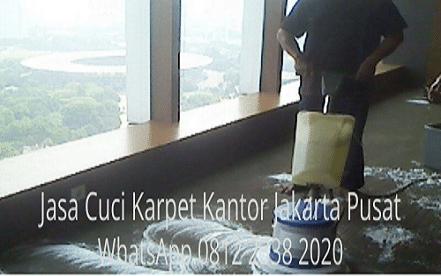 Jasa Cuci Karpet Kantor Jakarta Pusat
